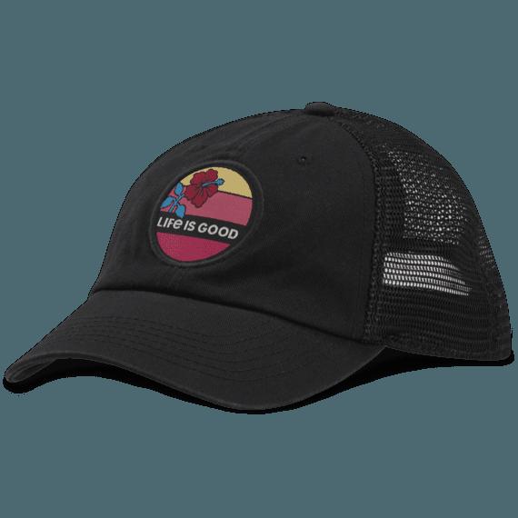 Hibiscus Sun Soft Mesh Back Cap