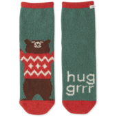 Huggrr Bear Plush Snuggle Sock