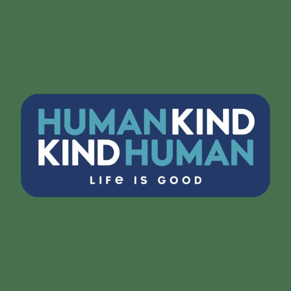 Human Kind Die Cut Sticker