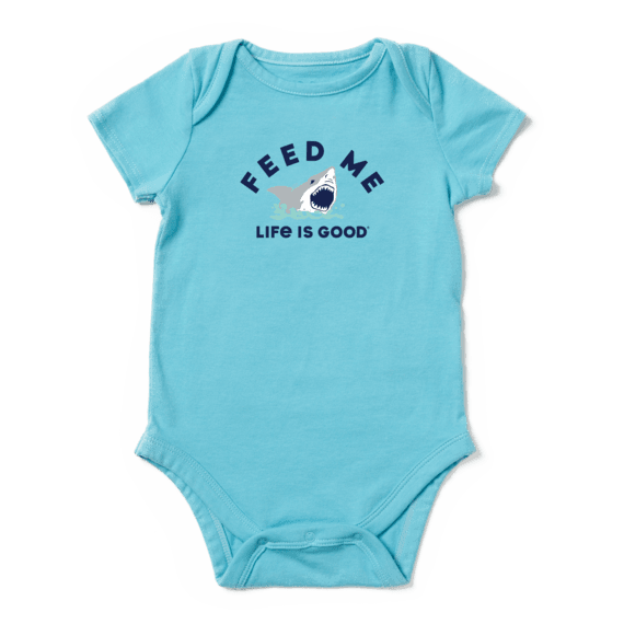 Infant Feed Me Crusher Baby Bodysuit