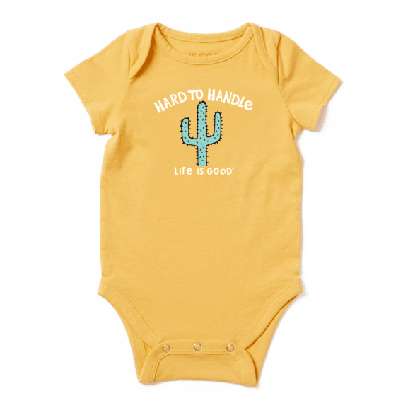 Infant Hard To Handle Crusher Baby Bodysuit