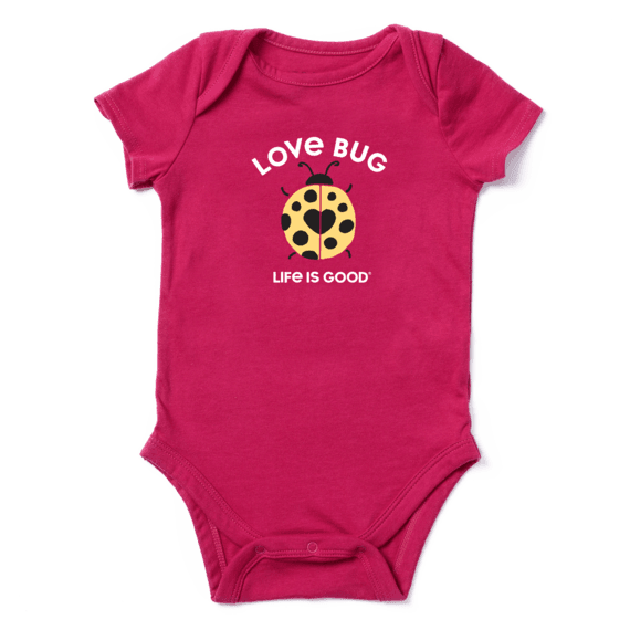 Infant Lady Love Bug Crusher Baby Bodysuit
