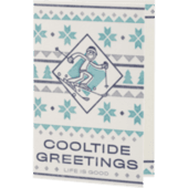 Cooltide Greetings Holiday Card