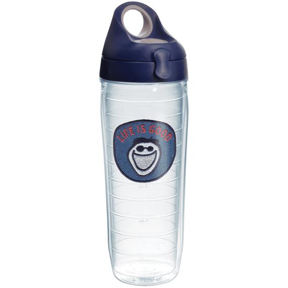 Jake Emblem Tervis Water Bottle with Navy Lid