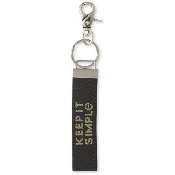Keep It Simple Ride On Keychain