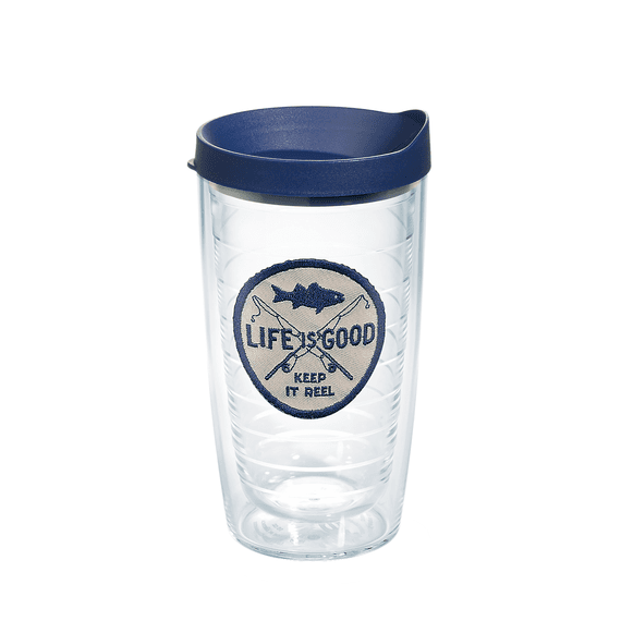 Keep it Reel Emblem Tervis Tumbler with Lid, 16oz