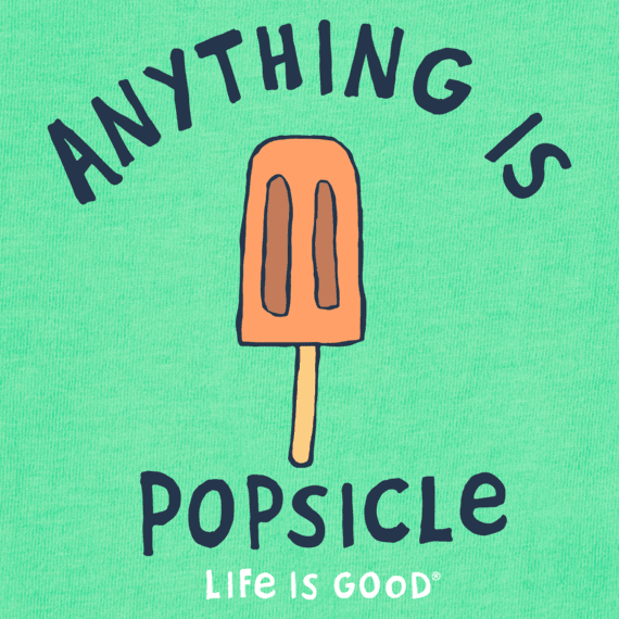Kids Anything is Popsicle Crusher Tee