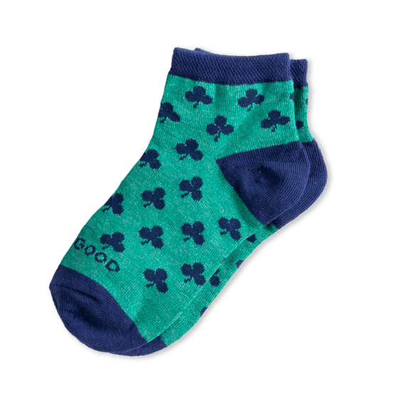 Kids Clover Quarter Socks