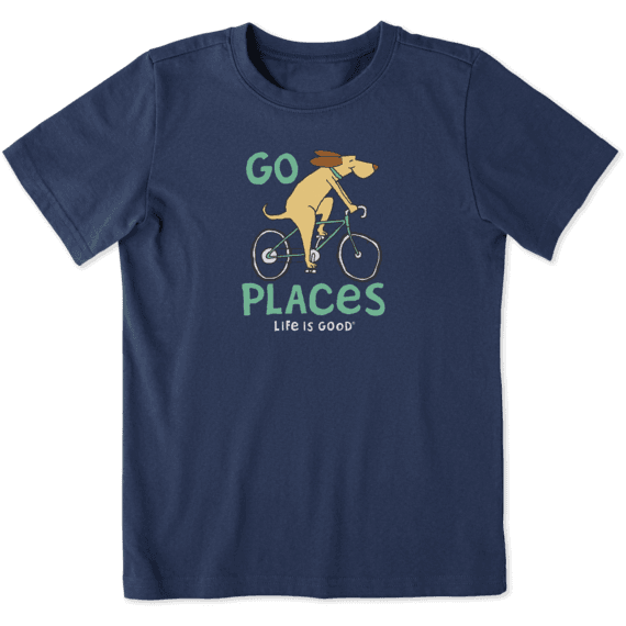 Kids Go Places Crusher Tee