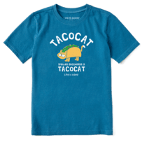 Kids Tacocat Crusher Tee