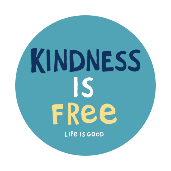Kindness Is Free 4-Circle Sticker