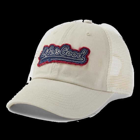 LIG Ballyard Script Soft Mesh Back Cap