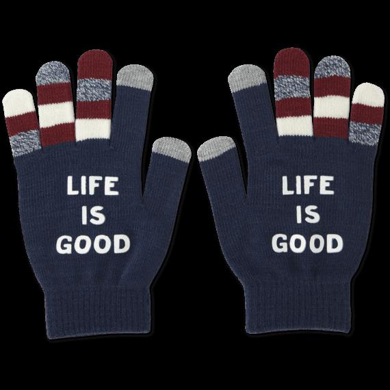 LIG Branded Texting Gloves