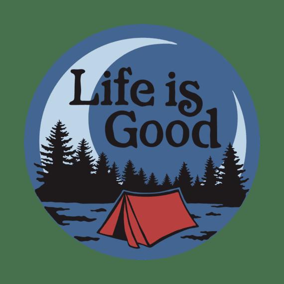 LIG Camp Scenic 4-Circle Sticker