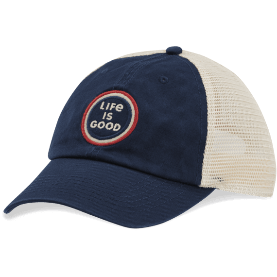 LIG Coin Soft Mesh Back Cap