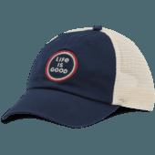 LIG Coin Soft Mesh Back Cap