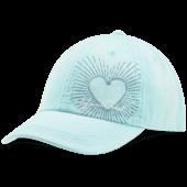 LIG Heart Radiate Sunwashed Chill Cap