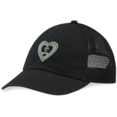 LIG Heart Vibes Soft Mesh Back Cap