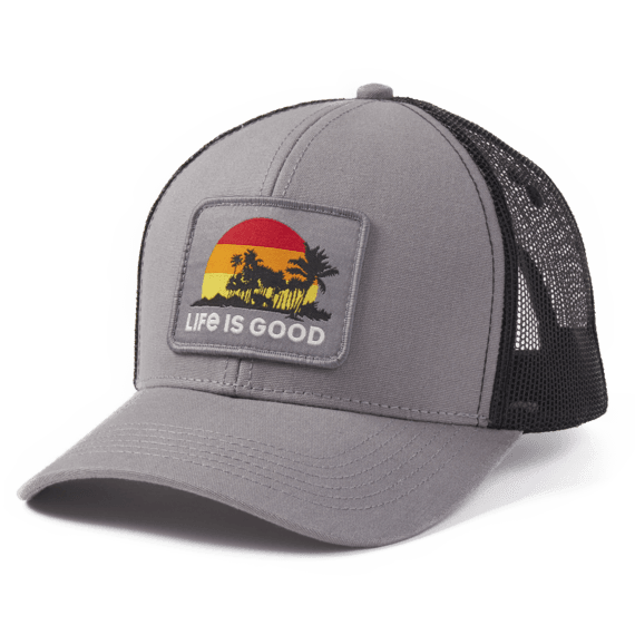 LIG Island Vibes Hard Mesh Back Cap