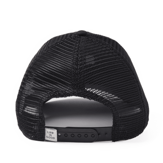 LIG Leaf Pattern Patch Soft Mesh Back Cap