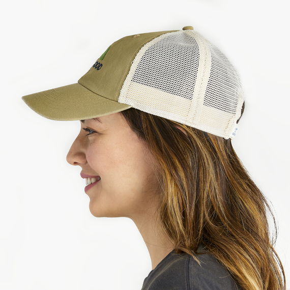 LIG Minimal Mountains Soft Mesh Back Cap