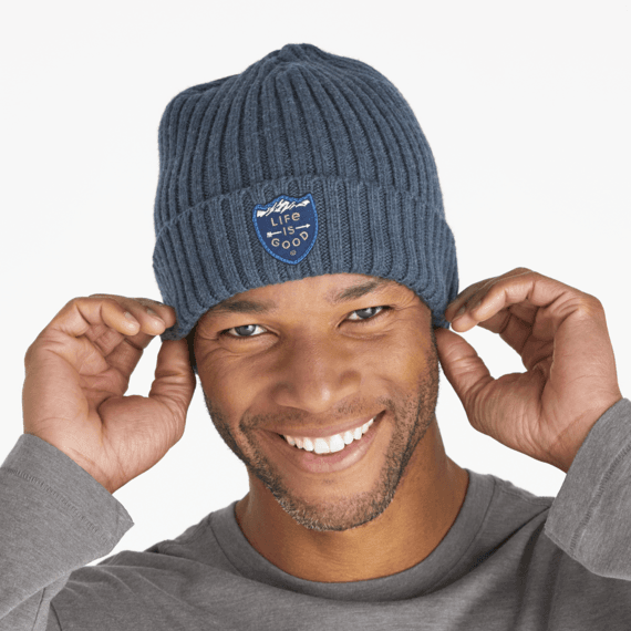 LIG Mountain Crest Patch Toasty Groove Beanie