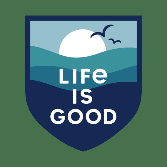 LIG Ocean Die Cut Sticker