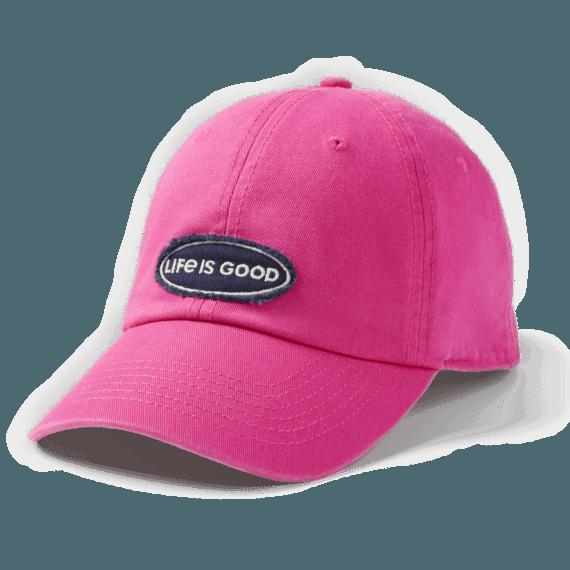 LIG Oval Applique Tattered Chill Cap