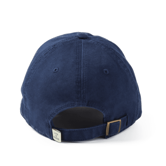 LIG Oval Applique Tattered Chill Cap