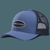 LIG Oval Hard Mesh Back Cap
