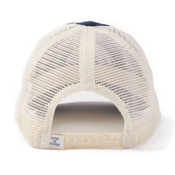 LIG Rainbow Soft Mesh Back Cap