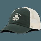 LIG Shamrock Soft Mesh Back Cap