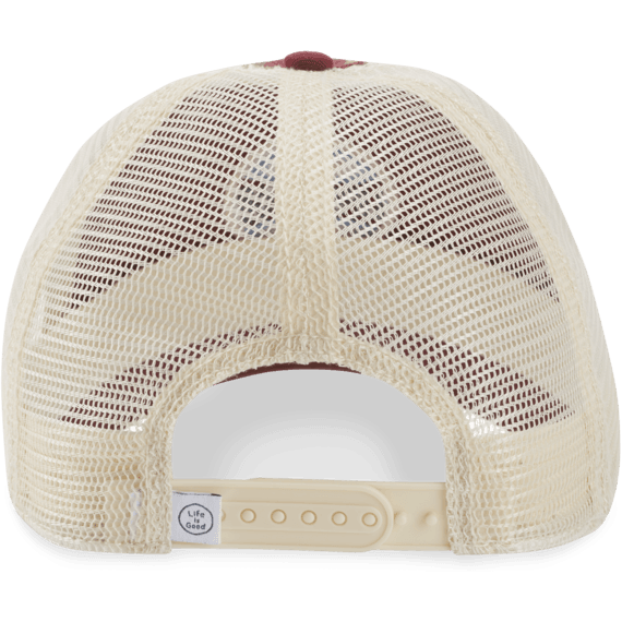 LIG Simple Coin Patch Soft Mesh Back Cap
