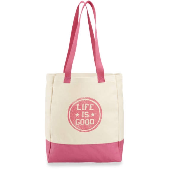 Life is good LIG Mandala Market Tote OS Natural PYjMUStf8