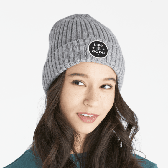 LIG Star Coin Patch Toasty Groove Beanie