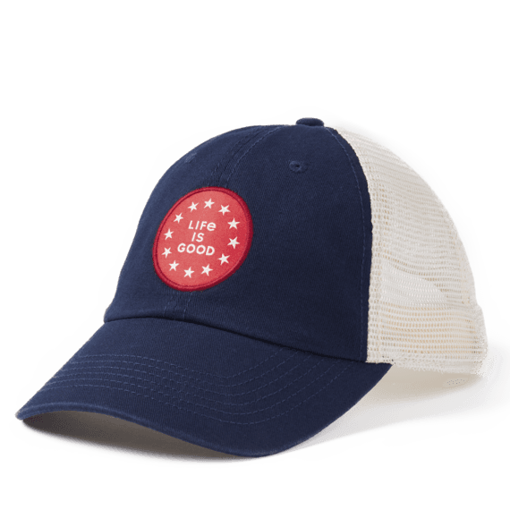 LIG Star Coin Soft Mesh Back Cap