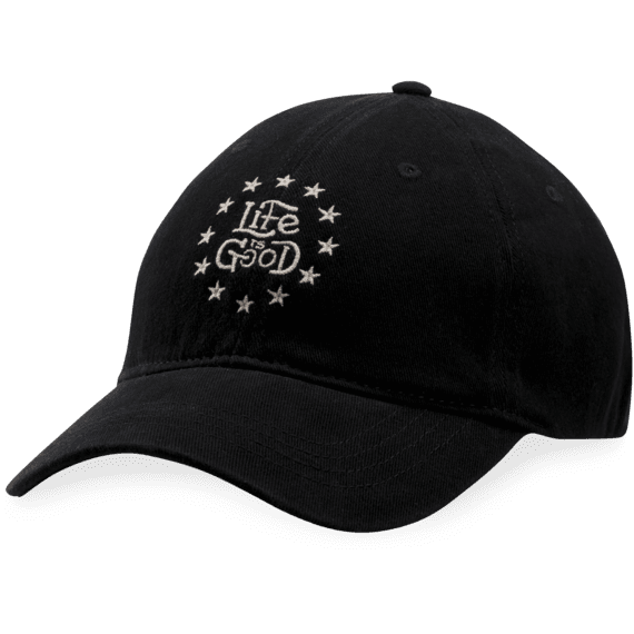 LIG Stars Sueded Stretch Cap