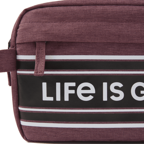 LIG Stripes Dopp Kit