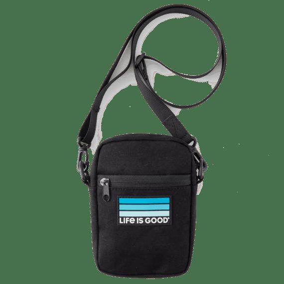 LIG Stripes Essential Crossbody Bag
