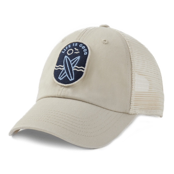 LIG Surfboards Patch Soft Mesh Back Cap
