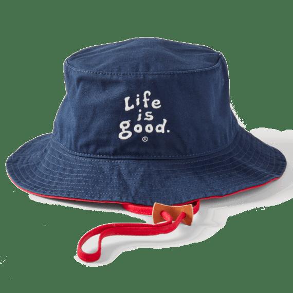 LIG Vintage Wordmark Stacked Bucket Hat
