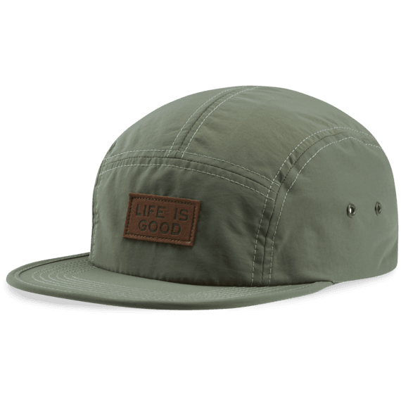 Leather LIG Patch Low Five Cap