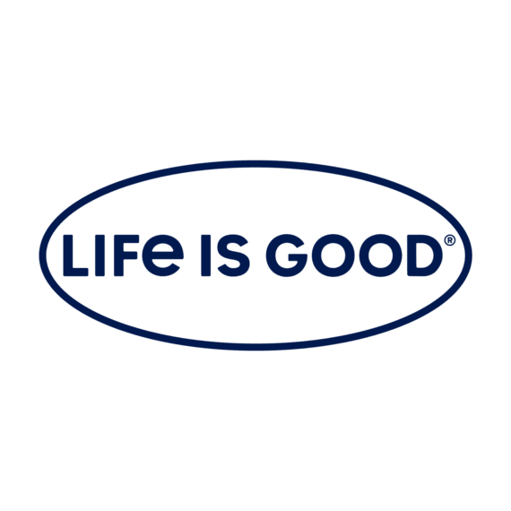 Life Is Good Branded Window Decal