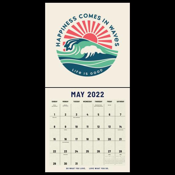 Life is Good 2022 Mead Calendar 12 x12