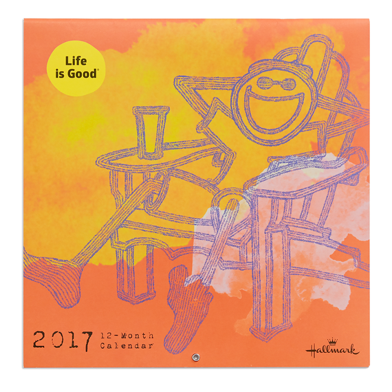 Life is Good 2017 Wall Calendar