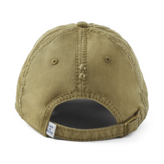 Life is Good Branded Sunwashed Chill Cap