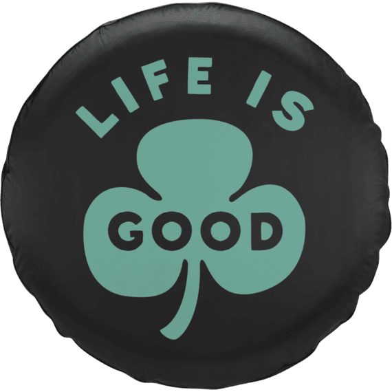 Life is Good Clover Tire Cover