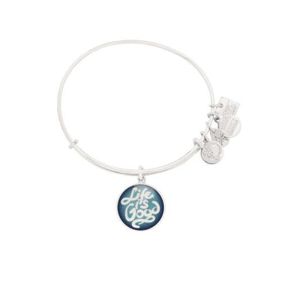 Life is Good Charm Bangle