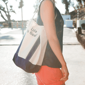 Carry On Canvas Tote