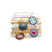 Listen to Your Heart Charm Bangle